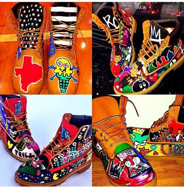 Custom Timberland Boots By theartcartel Timbs Pinterest Woman Shoes Outlets And
