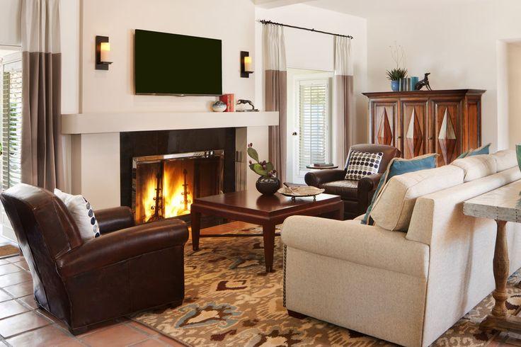 La Quinta Resort & Club - A Waldorf Astoria Resort, La Quinta, Arzner Suite  2 Bedroom, Living Area