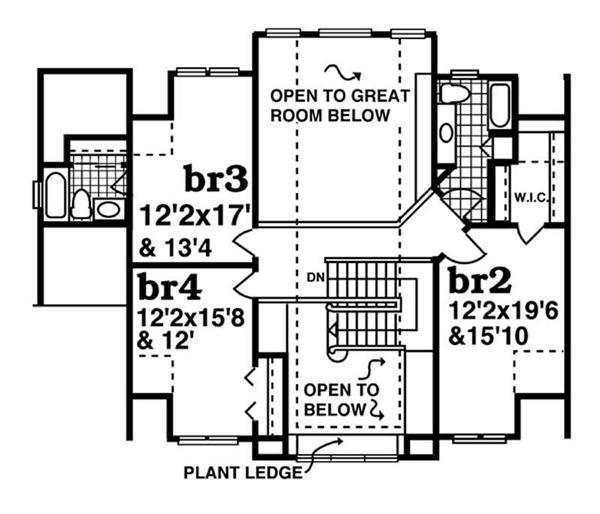 1000 images about floor plans on pinterest colonial for Room above garage plans