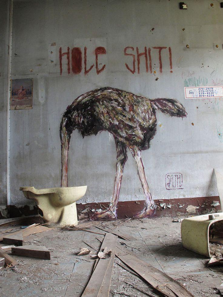 Du-street-art-qui-interagit-avec-son-environnement-par-Sath-3 Du street-art qui interagit avec son environnement par Sath