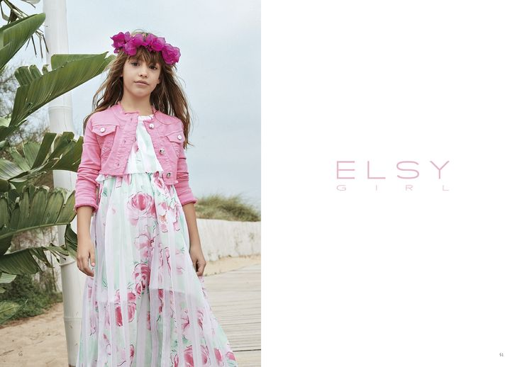 ELSY GIRL FLOWERING SS 2017 COLLECTION