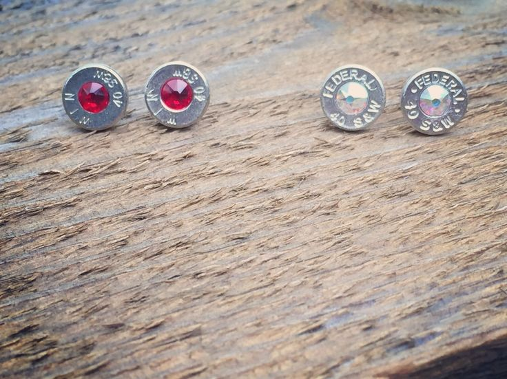 A personal favorite from my Etsy shop https://www.etsy.com/listing/253011179/bullet-stud-earring