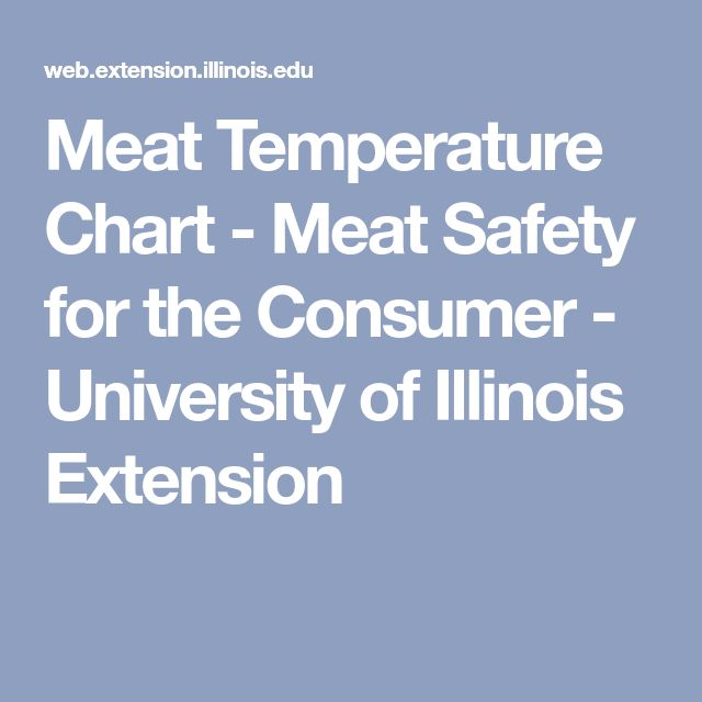 Best  Meat Temperature Chart Ideas On   Medium Rare