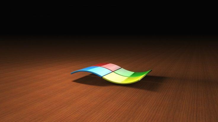 Windows 3D Logo Background