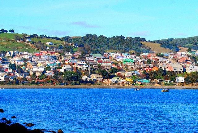 Ancud in Chiloé. Chile.