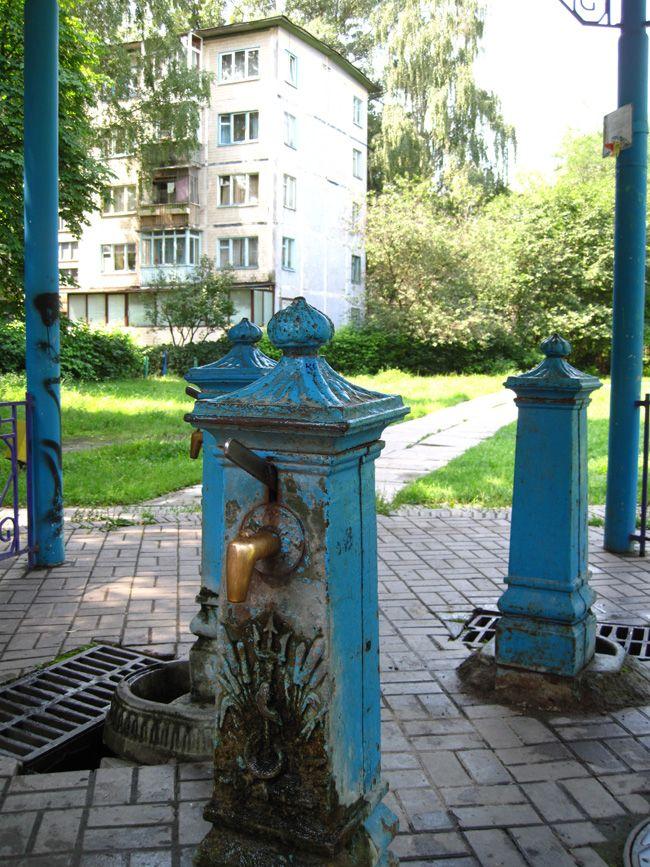 Бювет с артезианской скважиной в Киеве (Борщаговка?)