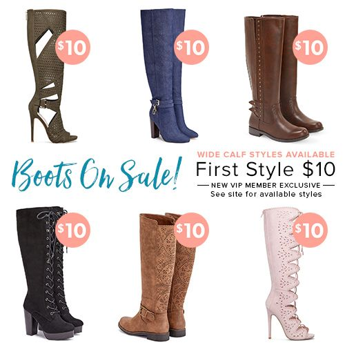 Hello Gorgeous! New Shoedazzle VIPs get their first pair for only $10! As a VIP, you'll enjoy a new boutique of personalized styles each month, as well as exclusive pricing, early access to sales & free shipping on orders over $39. Don't think you'll need something new every month? No problem – click 'Skip The Month' in your account by the 5th and you won't be charged. But this deal won't last forever! Take advantage of this exclusive offer by tapping on the photo and taking the Style Quiz!