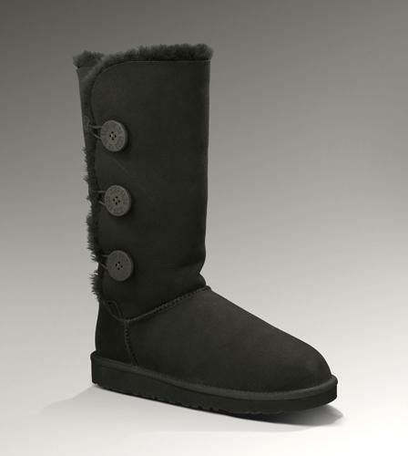 UGG Bailey Button Triplet 1873 Black