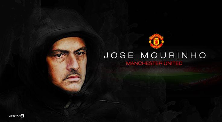Jose Mourinho Coach Manchester United (design: Abdillah/Liputan6.com)