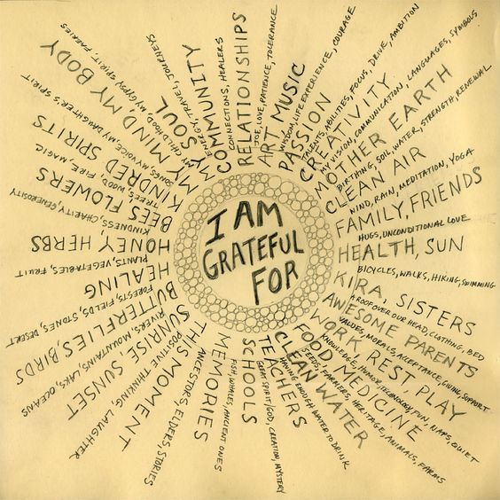 DownDog Inspirations: I am grateful for...From the Downdog Diary Yoga Blog found exclusively at DownDog Boutique.
