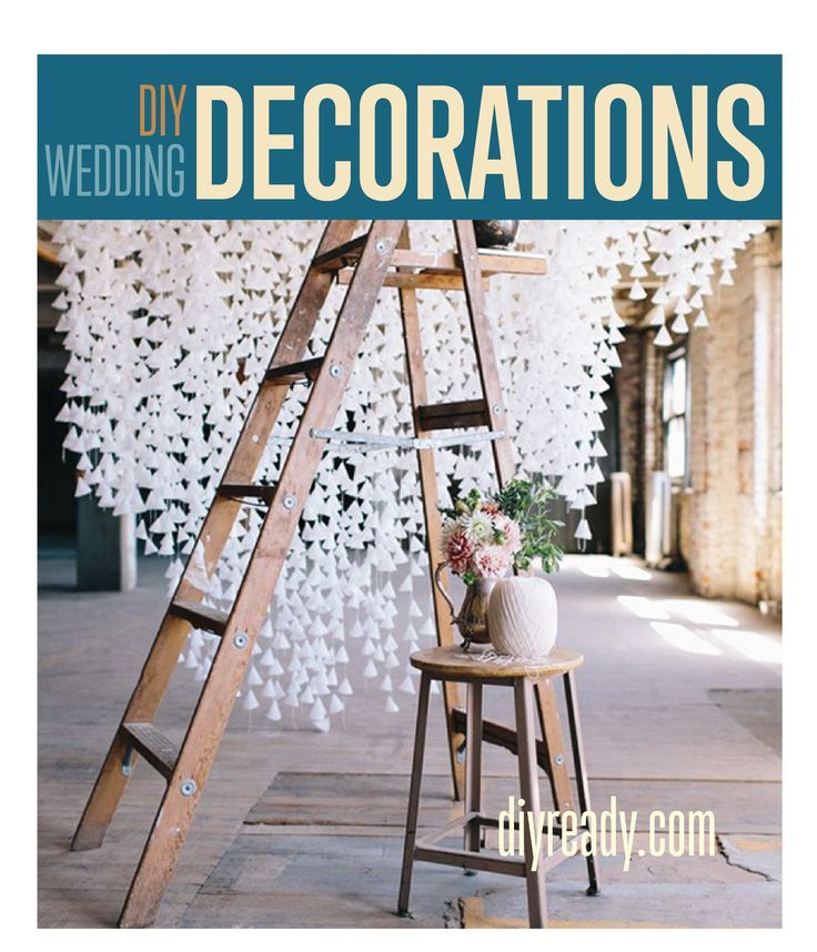 DIY Wedding Decorations  Homemade Wedding Decorations and DIY Wedding Decor you can make for little money.| DIY Weddings #diyready | diyready.com