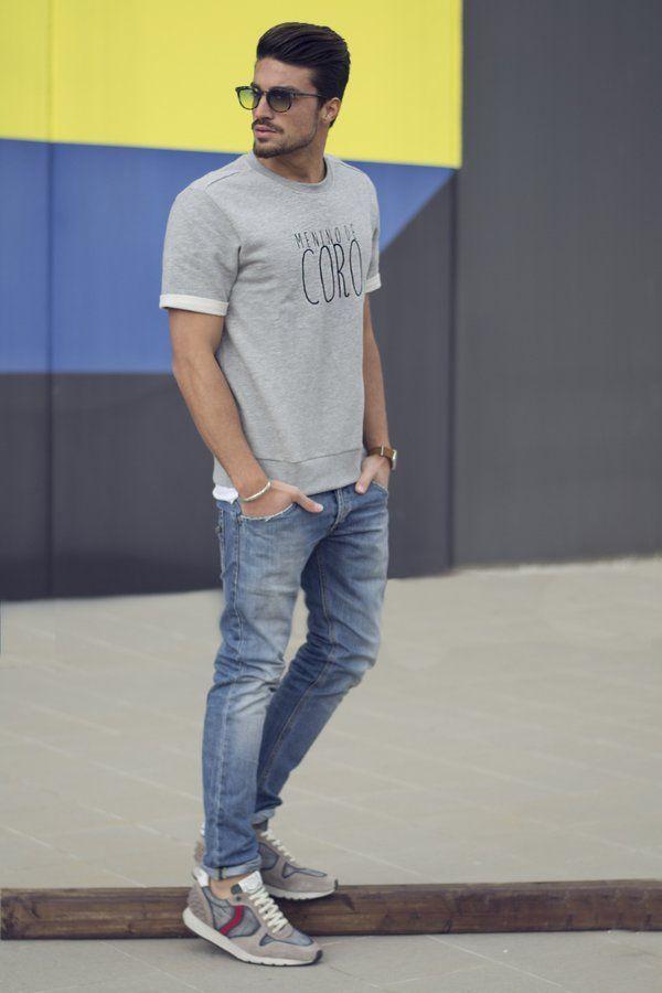 Estilo casual para hombre. El estilo que todo hombre busca para sus días libres.  #estilo #casual #moda #hombre
