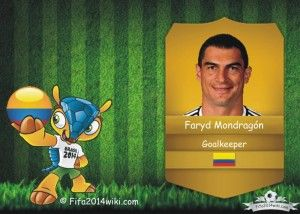 Faryd Mondragon - Colombia Player - FIFA 2014