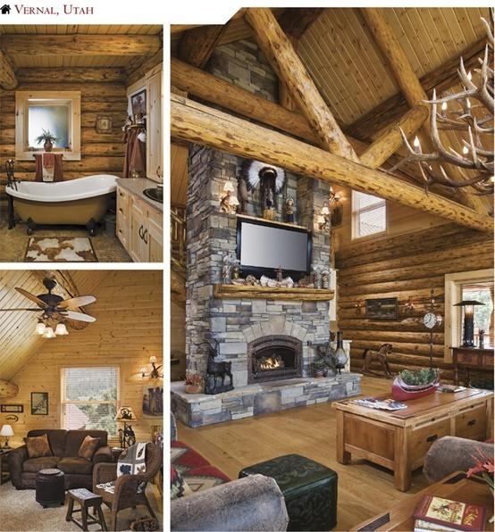Marvelous Log Cabin Luxury