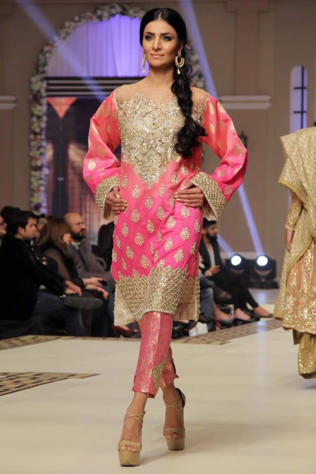 Faraz Manan Latest Bridal Collection 2014 TBCW