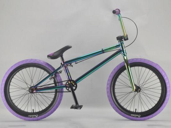 madmain green fuel 20 inch BMX bikes from Harry Main and mafia BMX