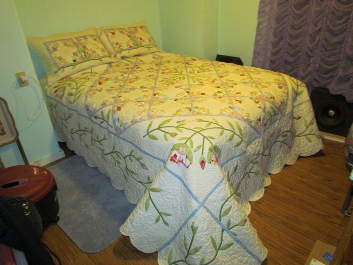 Michial and Tatyana's king size quilt
