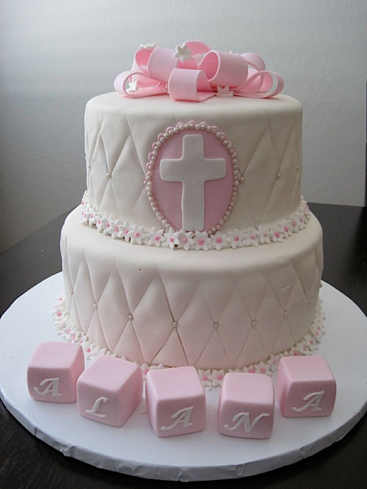 Baptism Cakes For Baby Girl Philippines
