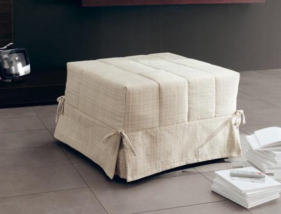 #pouf letto by Ditre Italia: http://www.ditreitalia.com/eng/trasformabili/modelli/1133/trasformabili_pouff_letto.html    #poufletto