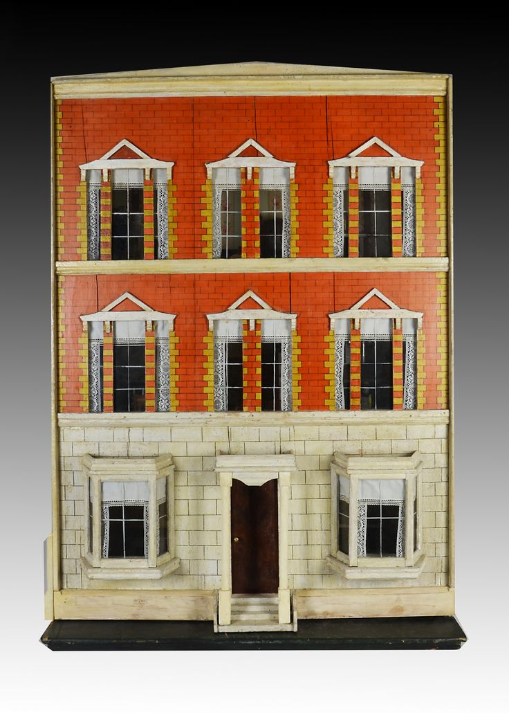 123 best Antique Dollhouse 2 images on Pinterest Dollhouses
