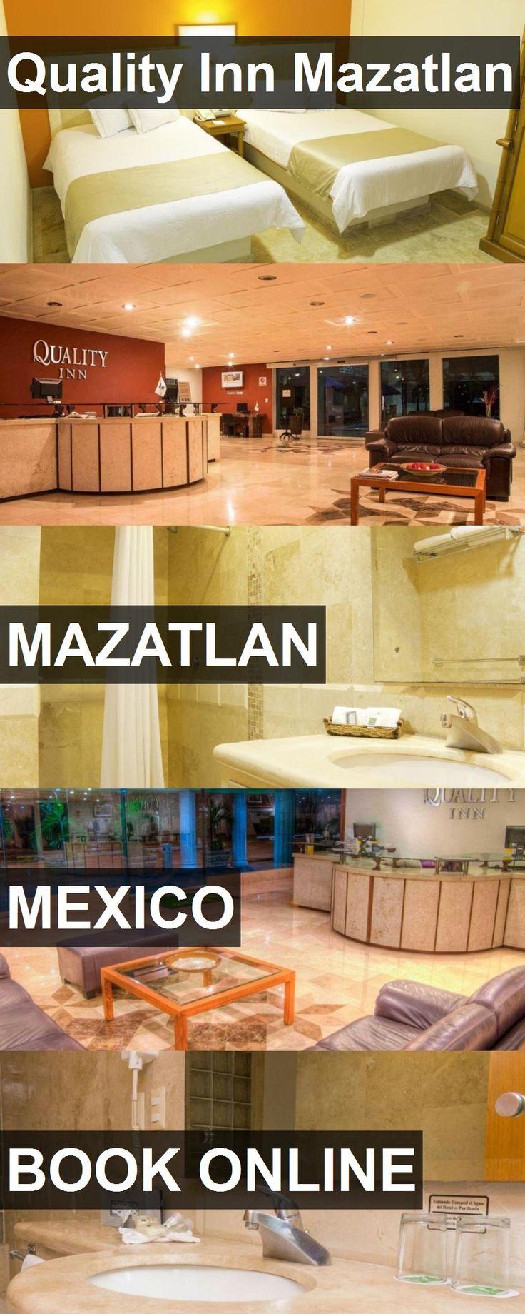 Hotel Quality Inn Mazatlan in Mazatlan, Mexico. For more information, photos, reviews and best prices please follow the link. #Mexico #Mazatlan #QualityInnMazatlan #hotel #travel #vacation