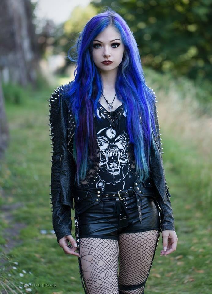 Punk rock clothing for women