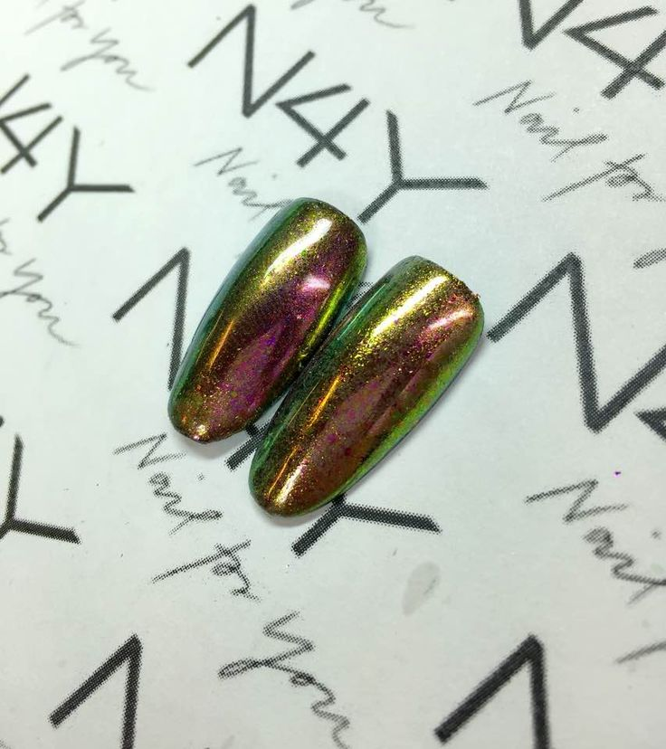 Nail pigment chameleon, a wonderfull easy to use pigment, make your nail art nails awesom with this nail pigment