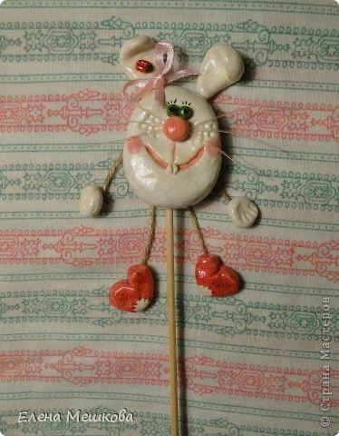 Поделка изделие Лепка Украшения для цветочков Тесто соленое фото 5