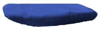 Bass Pro Shops Select Fit Hurricane Boat Covers for Inflatable Blunt Nose Models with Outboard - Blue - 66''