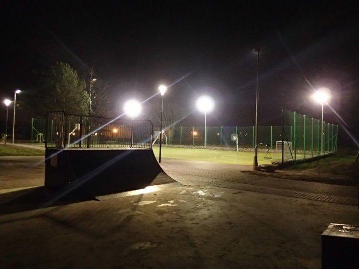 W parku Bociani Zakątek dostawiono dwie zabawki, wykonano oświetlenie i wybudowano zjazd na parking. Koszt projektu 299 998,91 zł.