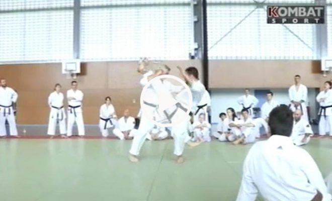 Karate – Emission Kombat Sport – Masterclass 2015 [vidéo 2/4]