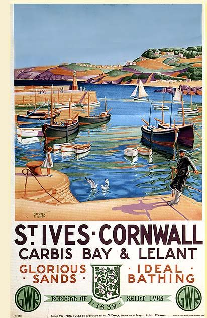 The Amazing St Ives - Cornwall. View our Authentic Cornish Cottages in West Cornwall http://www.cornishsecrets.co.uk/authentic-cornish-cottages.html