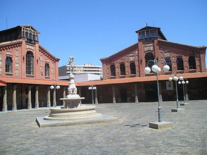 Imagen: Antiguo Matadero Municipal de Zaragoza. Centro Cívico Salvador Allende