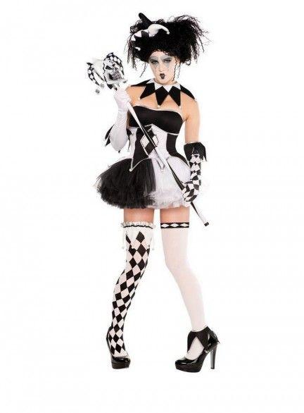 Tricksterina Harlequin Costume