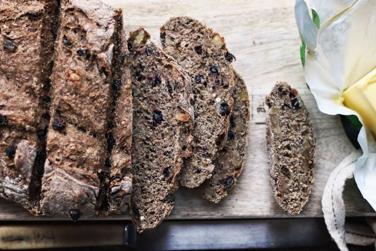 Milk and Honey: Walnut and Currant Bread