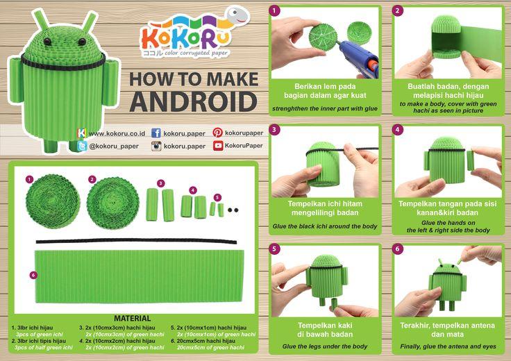 #kokoru #kokorupaper #DIY #android #green