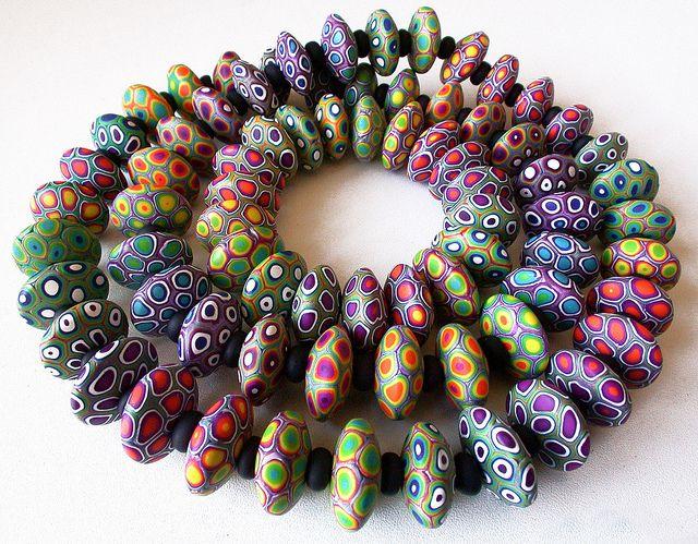 Madreselva61 Mortadela funky  Collar y pulsera - necklace & bracelet