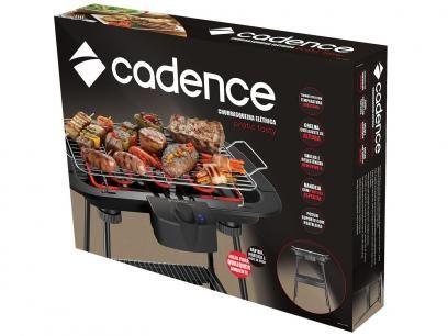 Churrasqueira Elétrica Cadence 1800W - Pratic Tasty com as melhores condições você encontra no Magazine Jsantos. Confira!