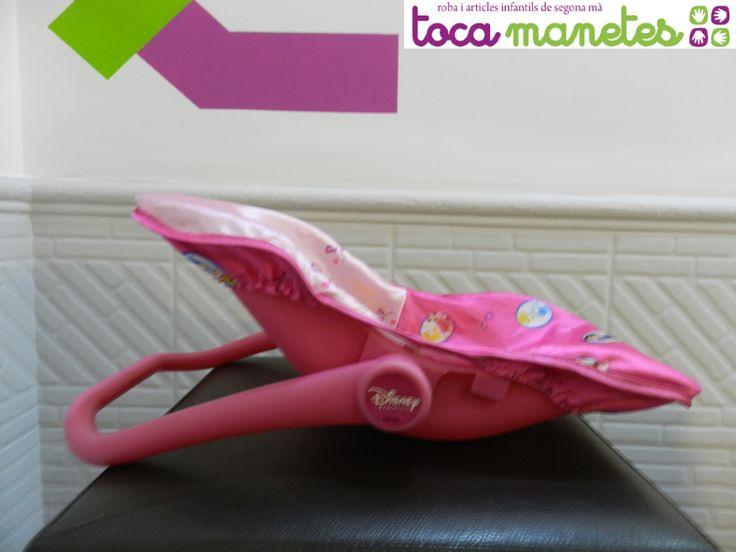 Hamaca para muñeco. Diseño Princesas Disney. PVP TocaManetes: 7€