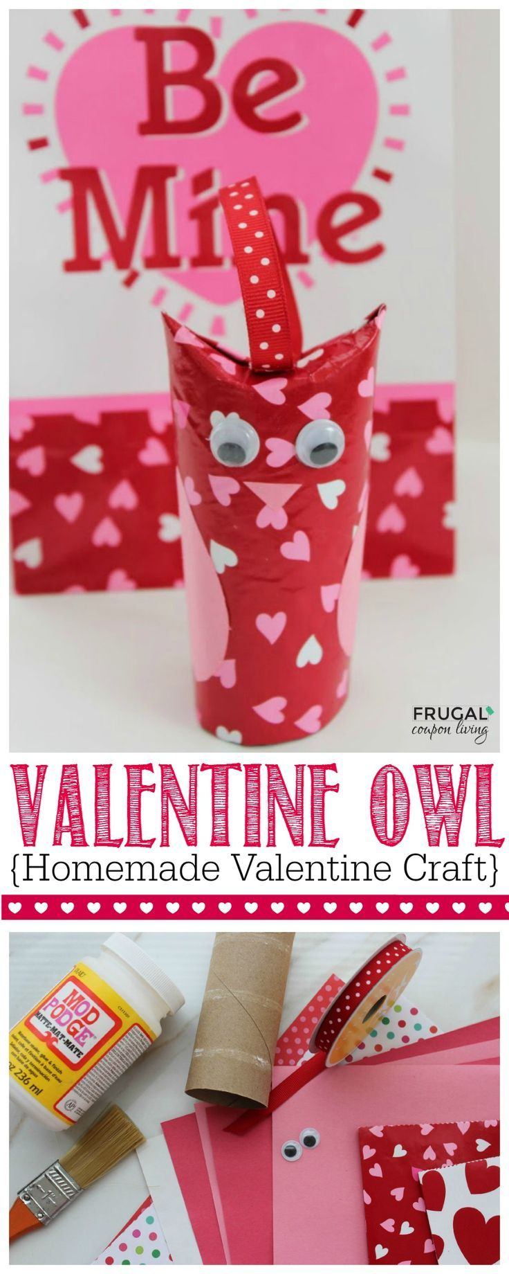 Homemade Valentines Crafts