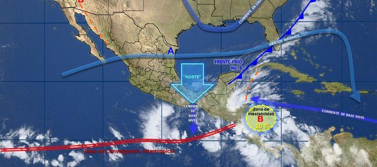 Pronóstico del clima en México para miércoles 25 de octubre - e-oaxaca Periódico Digital de Oaxaca