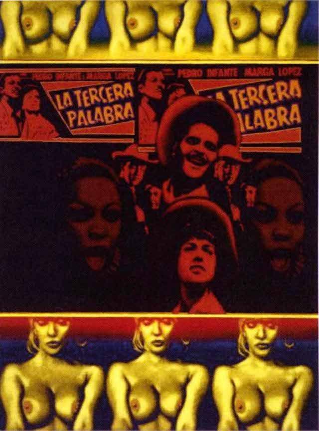 """ED PASCHKE """"Tercer Mundo"""" 32 """"por 24"""" oil_canvas 1969 COPYRIGHT-EL DOMINIO DE ED PASCHKE.  CORTESÍA-MARY Boone Gallery, Nueva York."""