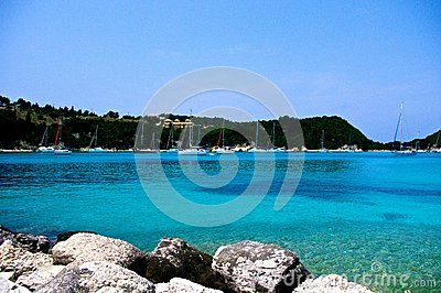 Yachting Paradise On Paxos, Greece - Download From Over 26 Million High Quality Stock Photos, Images, Vectors. Sign up for FREE today. Image: 44685325