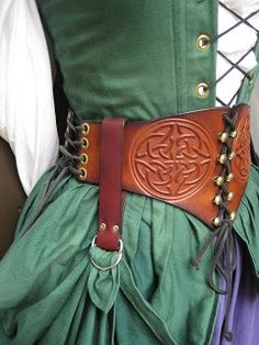celtic pattern belt