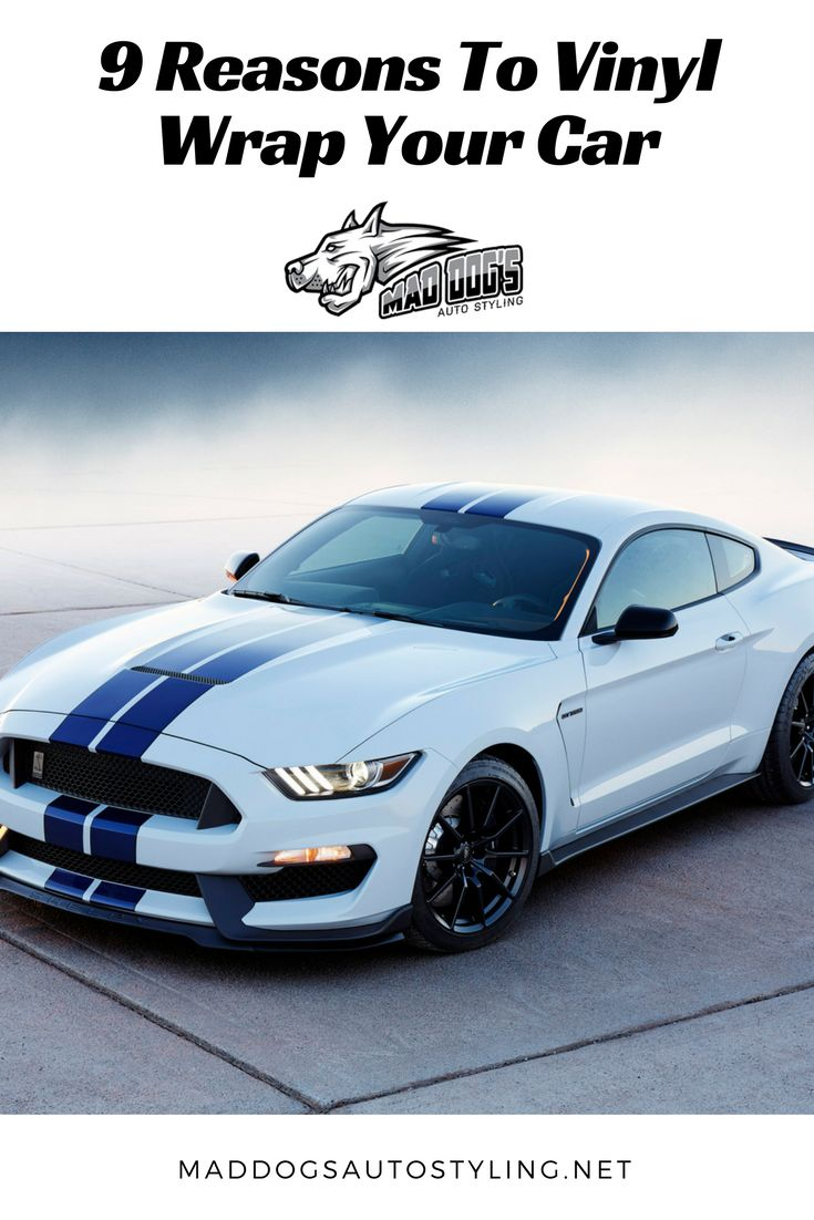 You can think of countless reasons to wrap your vehicle. Car lovers in Bismarck use car wraps not only to protect their cars but for many other benefits. #AutoWraps #Cars #CarCustomization