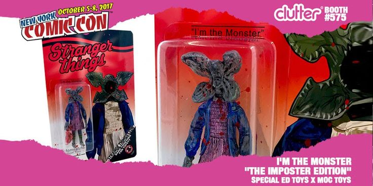 "Special Ed Toys x MOC Toys x Clutter - I'm The Monster ""The Imposter Edition"" exclusive… #ActionFigure #Bootleg #Clutter #DesignerToyArtToy"