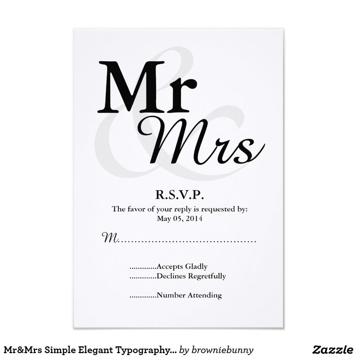 The 280 best Typography Wedding Invitations images on Pinterest ...