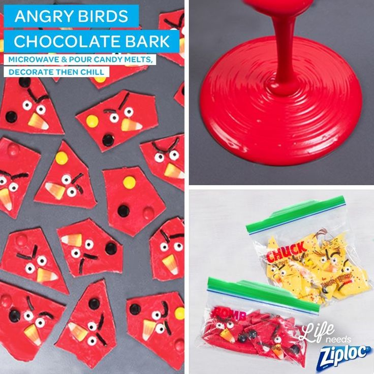 Chocolate Almond Bark Dunmore Candy Kitchen: 17 Best Images About Angry Birds Birthday Party On
