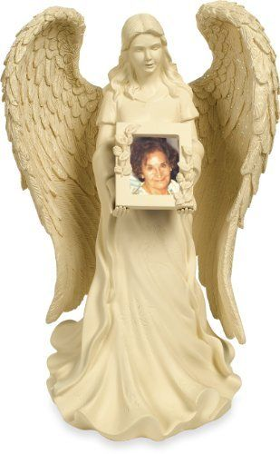 Angelstar In Angel's Hands Keepsake Angel, 10-Inch, 4 Cubic Inch Space by Angelstar. $71.36. 4 cubic inch space for treasured keepsakes. 11/4 by 11/4 inch photo area. High quality polyresin material, comes gift boxed. Those we love never go away. They're within our hearts every day. This exquisite angel by Angelstar comes with a frame as well as a keepsake area on the bottom to hold treasured keepsakes of your loved one. Includes Frame for Photo, Bottom of Figurine Has ...