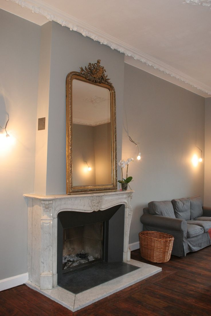 Chemin e ancienne int gration cassette home fireplace pinterest mai - Deco cheminee ancienne ...